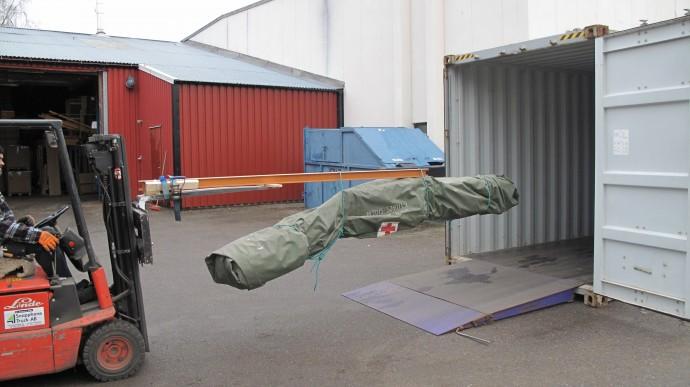 Packning tält 001