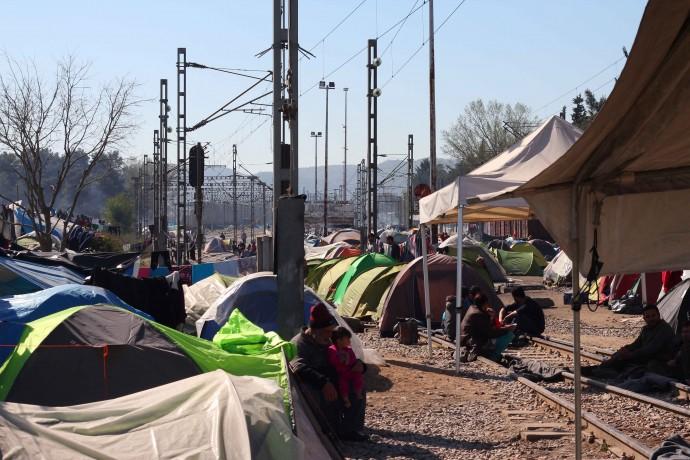 Flyktingläger 5